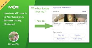 How to Add Products to Your Google My Business Listing, Illustrated